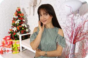 Поздравление с Новым Годом от Оксаны Тодоровой